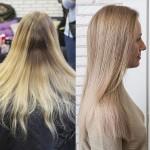 бронд на волосах