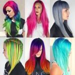 как красит волосы Rikky Zito