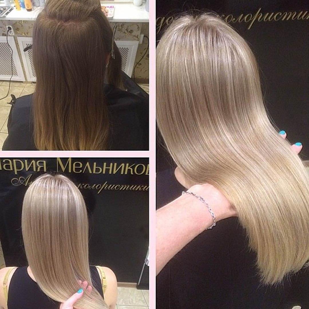 Техники окрашивания волос