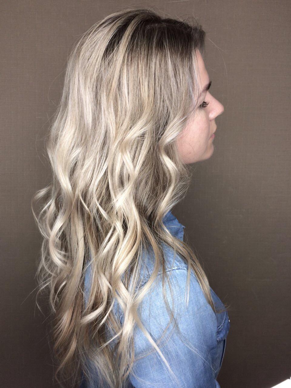 Актуальный блонд
