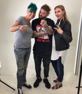 Рики Зито, Мария Мельникова и Дина Сергеева