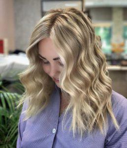 Американское окрашивание волос